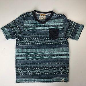 Free Planet L Large Men's T-Shirt Pocket Tribal